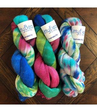 KittyBea Knitting KittyBea Manasota Sock Blank Festivus