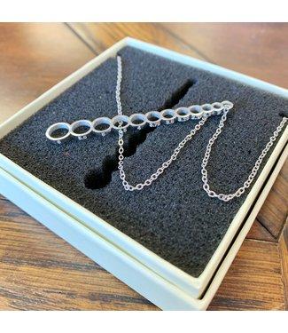 Needle Sizer Gauge Necklace