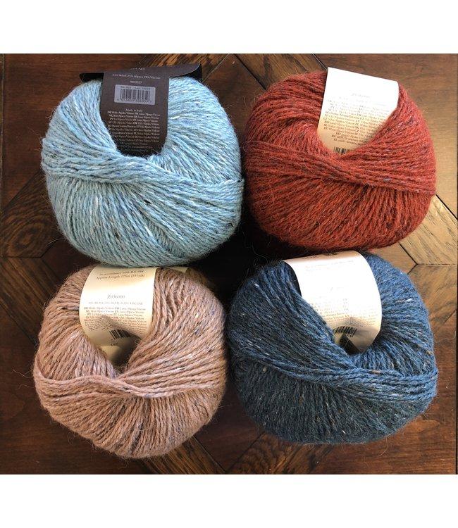 Mystery KAL Kit Q: Rowan, Felted Tweed