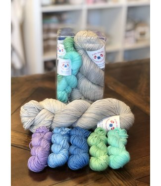 KittyBea Knitting KittyBea Sea Glass Gradient Kit