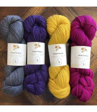 Mystery KAL Kit: Kelbourne Woolens, Perennial