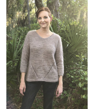 KittyBea Knitting KittyBea McClellan Pullover Kit