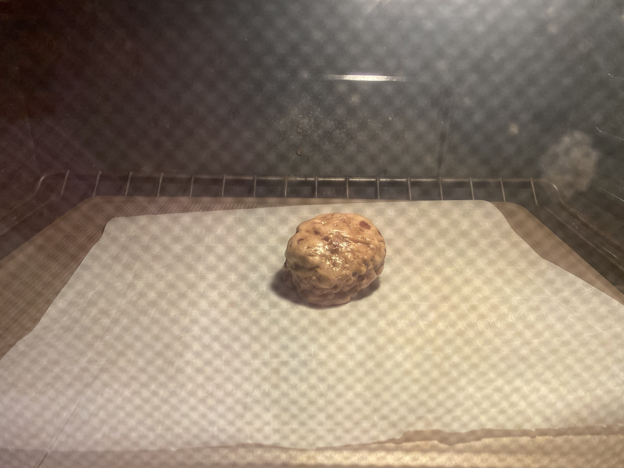 super thick chocolate chip cookies ready to bake