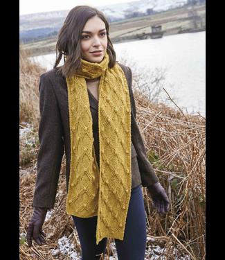 Rowan Rowan Cashmere Tweed Kitson Scarf Kit