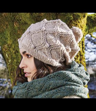 Rowan Rowan Cashmere Tweed Kitson Scarf & Hat Kit