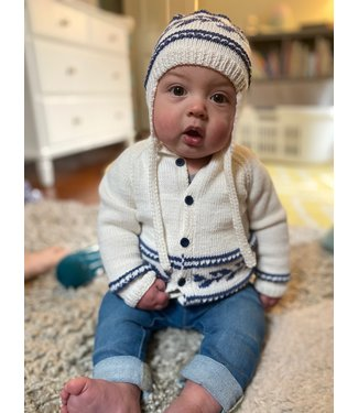 Rowan Baby Fairisle Cardigan & Hat Kit