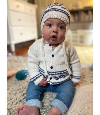 Rowan Baby Fairisle Cardigan & Hat Kit
