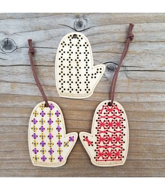 Katrinkles Katrinkles Stitchable Mittens Ornament Kit