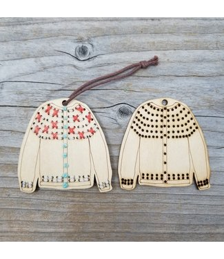 Katrinkles Katrinkles Stitchable Sweater Ornament Kit