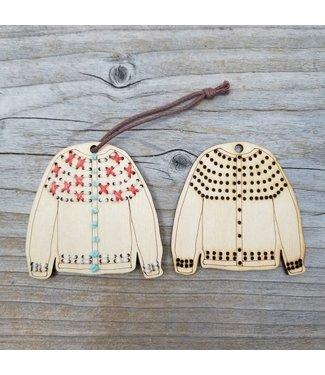 Katrinkles Katrinkles Stitchable Sweater Ornament Kit