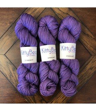 KittyBea Knitting KittyBea Crescent Purple Cow