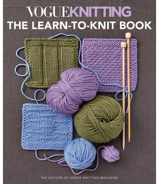 Vogue Knitting The Learn to Knit Book