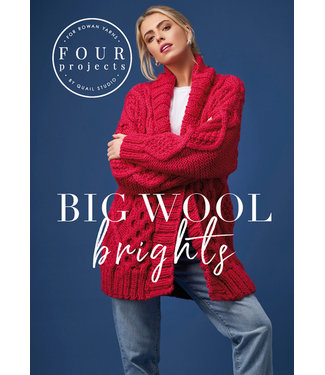 Rowan Rowan 4 Projects Big Wool Brights