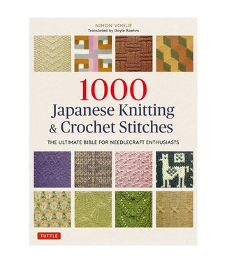 1000 Japanese Knitting and Crochet Stitches