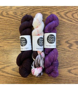 Kim Dyes Yarn Electric Feel Kim Dyes MKAL Kit