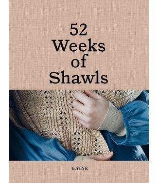 Laine Laine 52 Weeks of Shawls