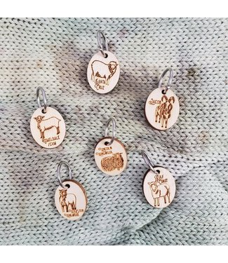 Katrinkles Rare Sheep Breed Stitch Markers