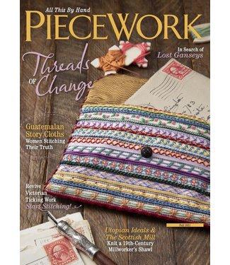 Handwoven Piecework Fall 2021