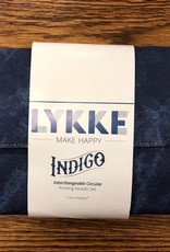 """LYKKE Driftwood Indigo 5"""" Circular Needle Set"""