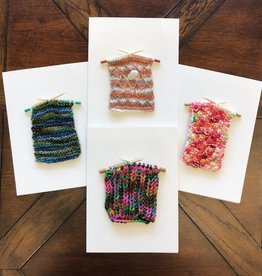 Purl Diver Greeting Cards