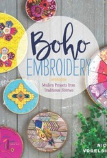 Boho Embroidery Book