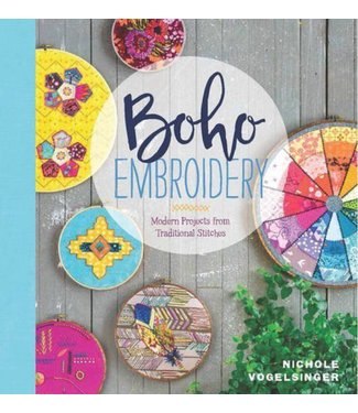 Boho Embroidery Book