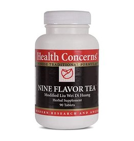 Health Concerns Health Concerns - Nine Flavor Tea - 90 Tablets