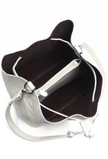 Handbag Noelani Monstera Embossed Ivory