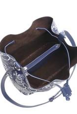 Handbag Noelani Hibiscus Blossom Blue