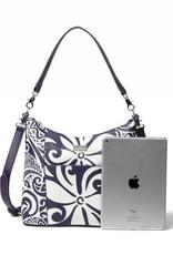 Hobo Bag Sara Tapa Tiare Purple