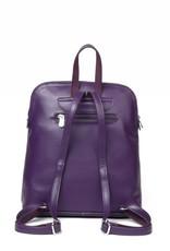 Backpack Sasha Tapa Tiare Purple Embossed