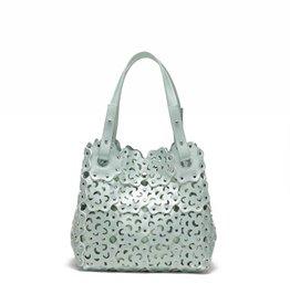 Happy Wahine Handbag Pua Green Metallic