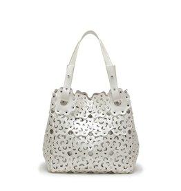 Happy Wahine Handbag Pua Ivory Metallic