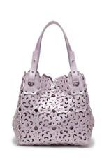 Handbag Pua Pink Metallic