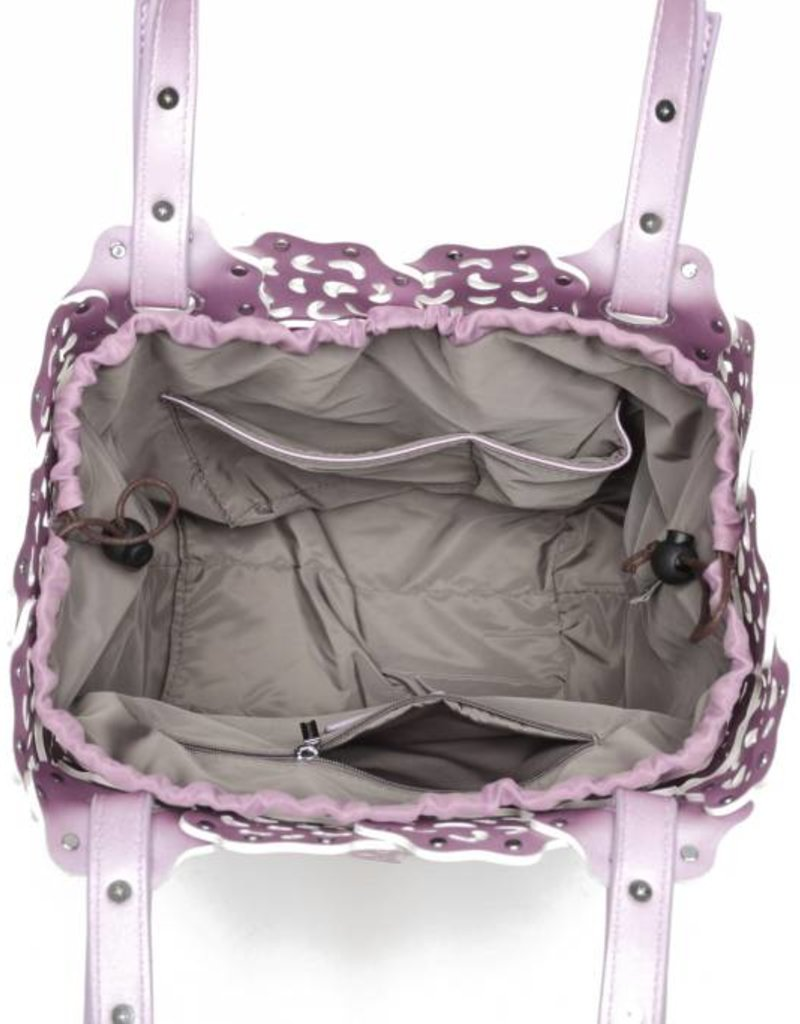 Happy Wahine Handbag Pua Pink Metallic