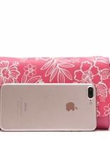 Happy Wahine Crossbody Amanda Blossom Hibiscus Pink