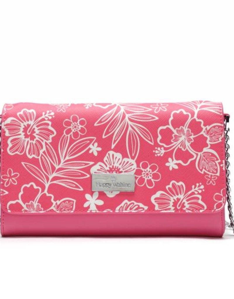 Crossbody Amanda Blossom Hibiscus Pink
