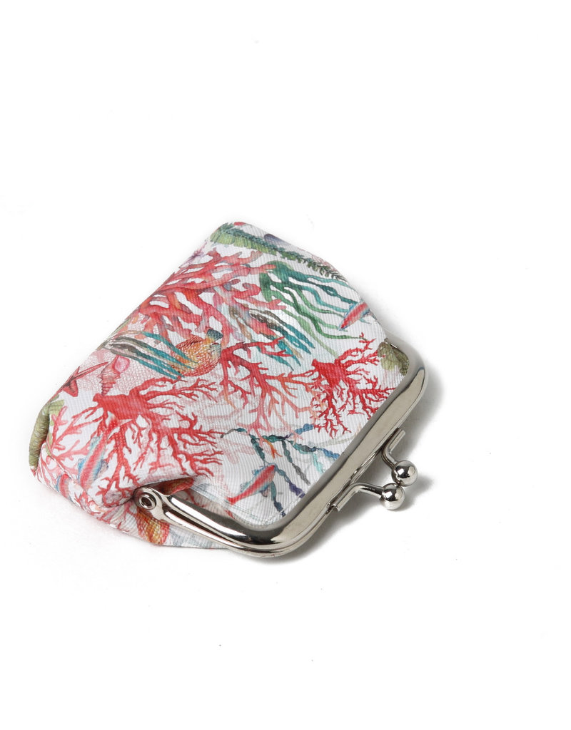 Everyday Hawaii EH Coin Purse Lrg Coral Beige