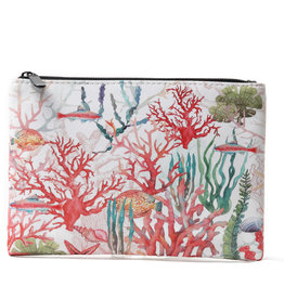 Everyday Hawaii EH Pouch Lrg Coral Beige