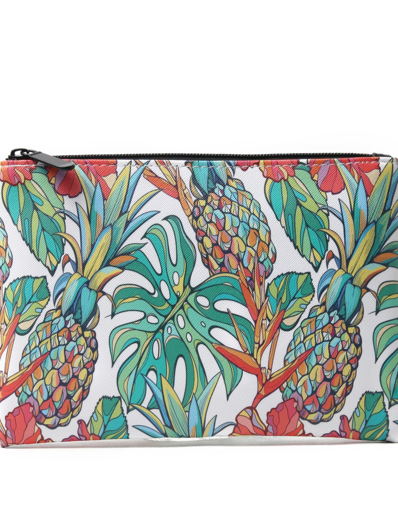 Everyday Hawaii EH Pouch Lrg Pineapple Beige