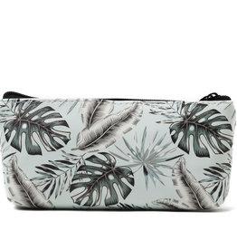 Everyday Hawaii EH Pouch Med Monstera Teal