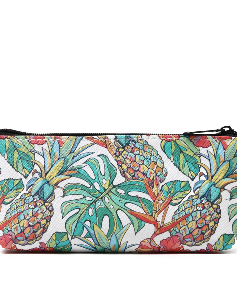 Everyday Hawaii EH Pouch Med Pineapple Beige