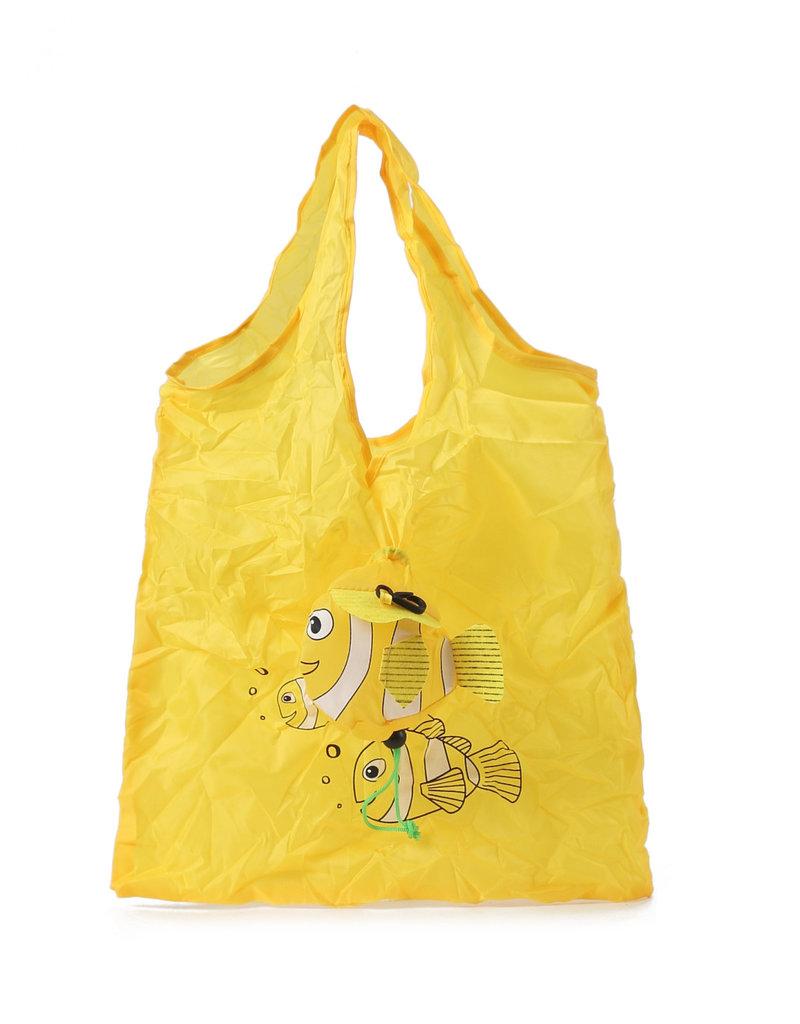 Everyday Hawaii Eco Bag Small Fish Yellow