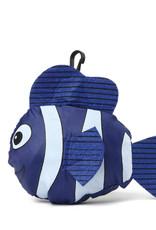 Everyday Hawaii Eco Bag Small Fish Navy