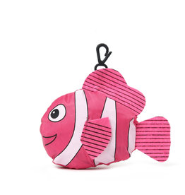Everyday Hawaii Eco Bag Small Fish Pink