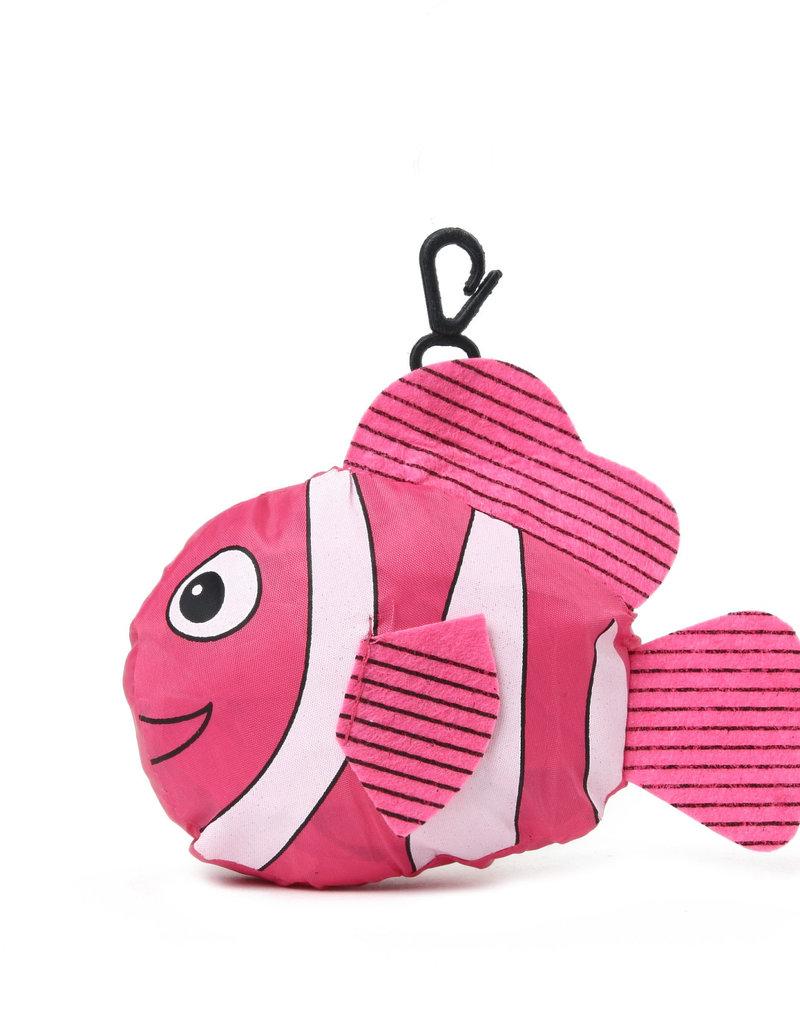 Everyday Hawaii Eco Bag Small Fish Pink