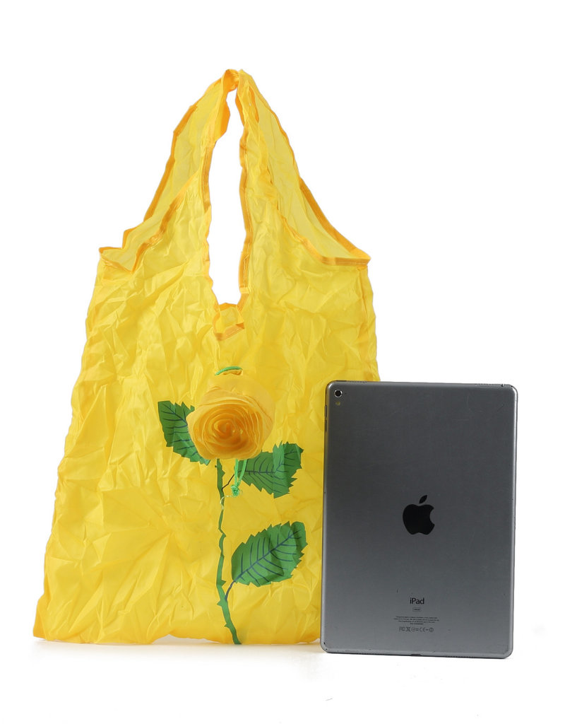 Everyday Hawaii Eco Bag Small Rose Yellow