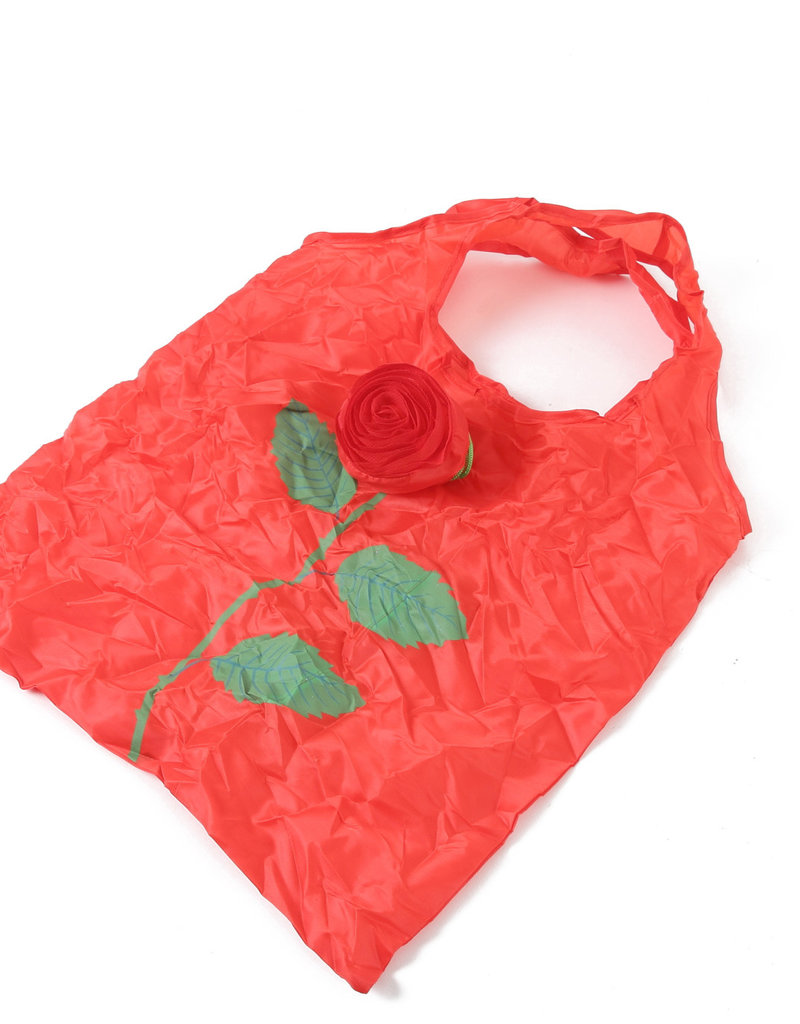 Everyday Hawaii Eco Bag Small Rose Red