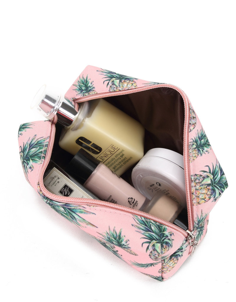 Everyday Hawaii EH Nylon Pouch Med Pineapple Pink