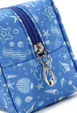 Everyday Hawaii EH Nylon Pouch Med Ocean Blue